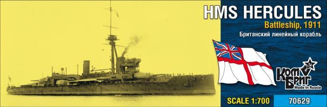 HMS Hercules, Battleship 1911