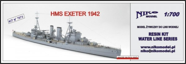 Exeter HMS 1942