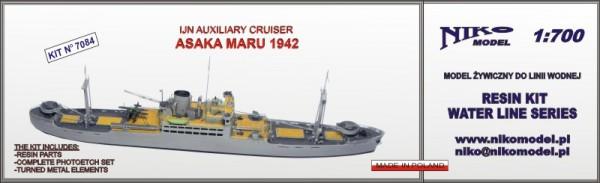 Asaka Maru 1942 IJN Auxiliary Cruiser