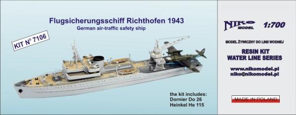 Flugsicherungsschiff Richthofen 1943 - German air-traffic safety ship