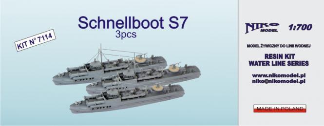Schnellboot S-7 (3pcs.)