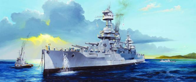 USS New York BB-34 Schlachtschiff