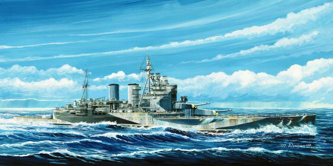 Renown HMS 1945