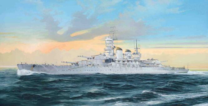 Littorio RN 1941 It. Navy Battleship