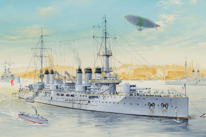 Voltaire French Navy Pre-Dreadnought Battleship