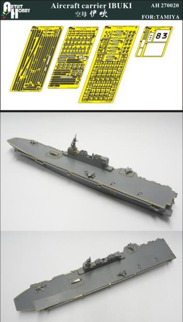 Ibuki japanese aircraft carrier for Tamiya