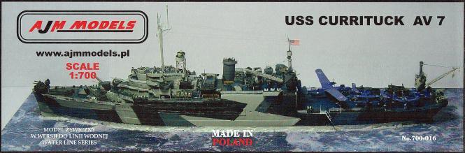 USS Currituck AV-7 1944 Seaplane Tender