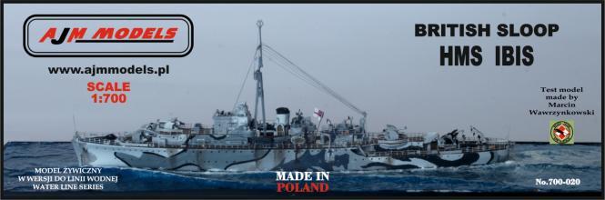 British Sloop HMS Ibis