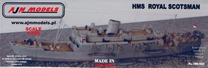 HMS Royal Scotsman Landing Ship Infantry