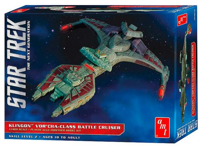 Klingon Vor'Cha-class battle cruiser