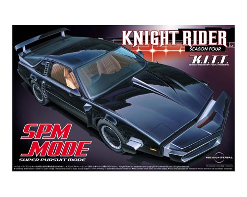 K.I.T.T. Knight Industries Two Thousand Knight Rider season four SPM Super Pursuit Mode