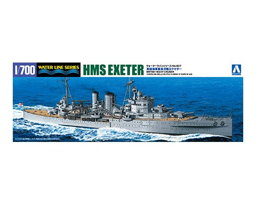 British Heavy Cruiser HMS Exeter