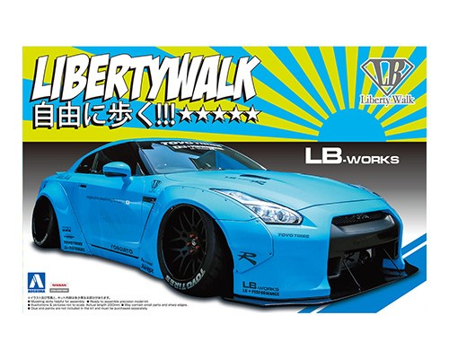 Libertywalk Nissan R35 GT-R ver. 1 LB-works
