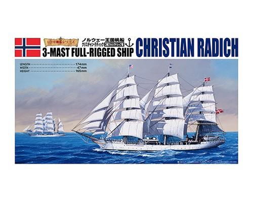 Christian Radich 3-mast full-rigged ship
