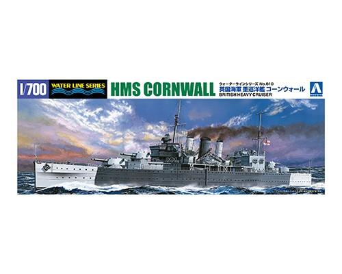 British Heavy Cruiser HMS Cornwall