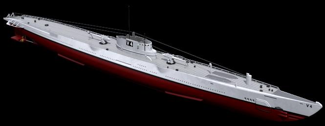 USS Argonaut V-4 mine-laying submarine