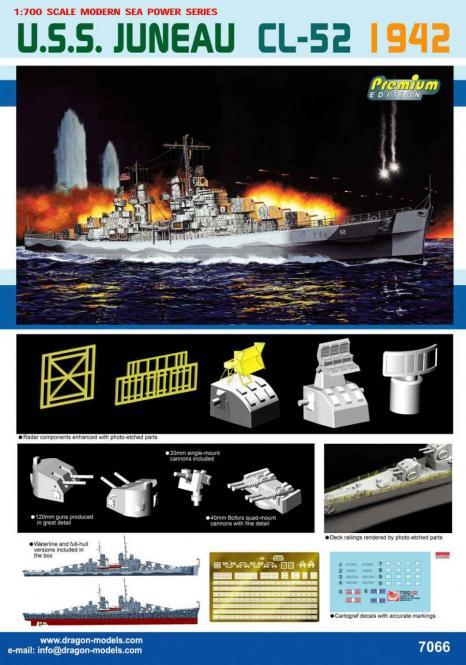 USS Juneau CL-52 1942 Premium Edition