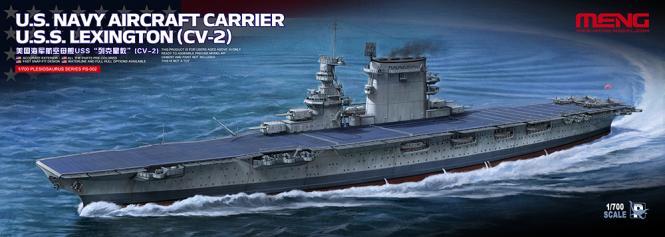 USS Lexington (CV-2) US Navy Aircraft Carrier
