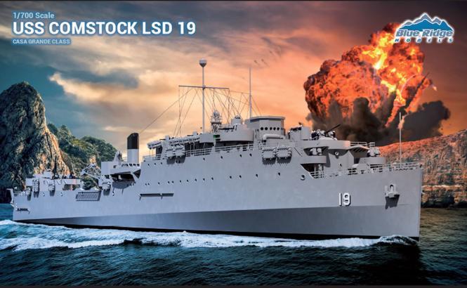 USS Comstock LSD-19 Casa Grande Class