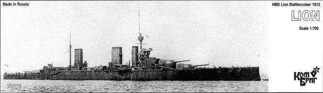 Lion HMS Battlecruiser 1912