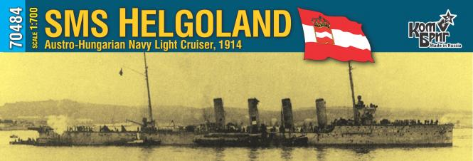 SMS Helgoland K.u.K. Navy Light Cruiser 1914