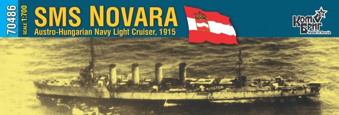SMS Novara K.u.K. Navy Light Cruiser 1915