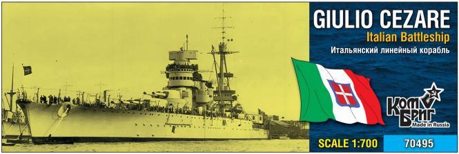 Giulio Cesare Italian Battleship 1937