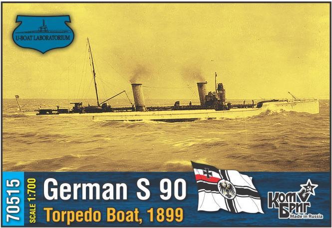 S 90 German Torpedo Boat 1899