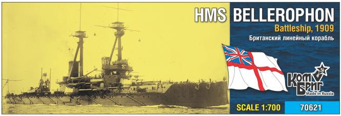 HMS Bellerophon, Battleship 1909