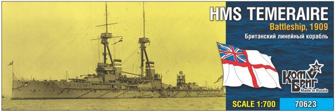 HMS Temeraire, Battleship 1909