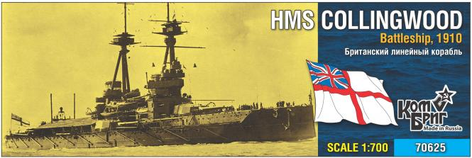 HMS Collingwood, Battleship 1910