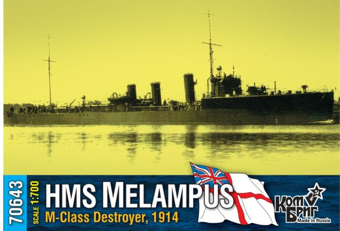 HMS Melampus, M-class destroyer 1914