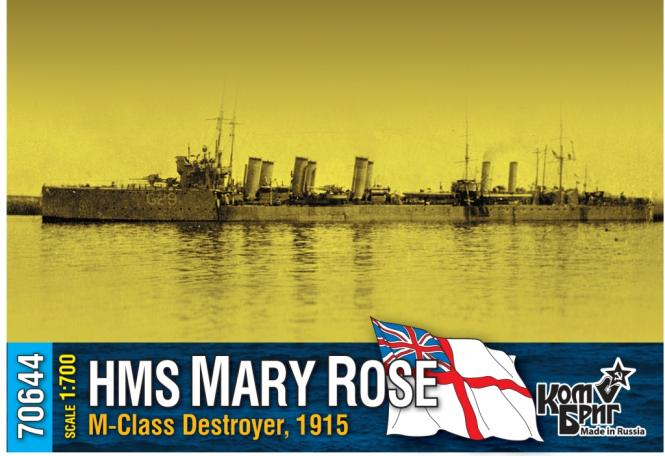 HMS Mary Rose, M-class destroyer 1915