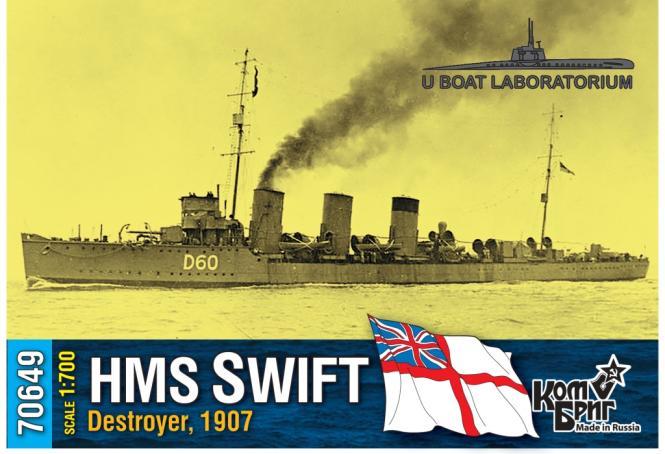 HMS Swift, destroyer 1907