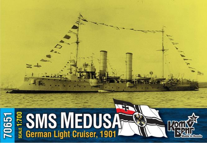SMS Medusa, German Light Cruiser, 1901