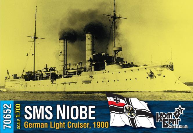 SMS Niobe, German Light Cruiser, 1900