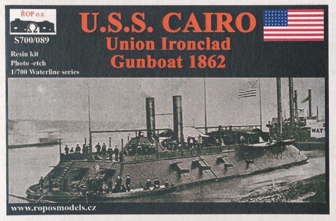 USS Cairo Union Ironclad Gunboat 1862