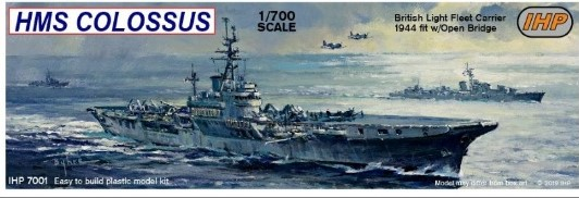HMS Colossus Aircraft Carrier