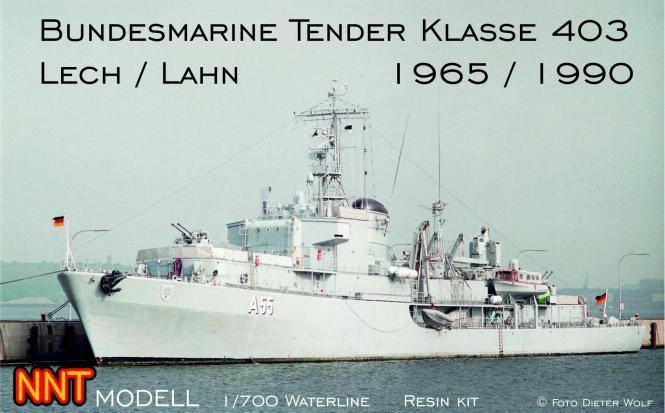 Bundesmarine Tender Klasse 403 Lech / Lahn (1965/1990)