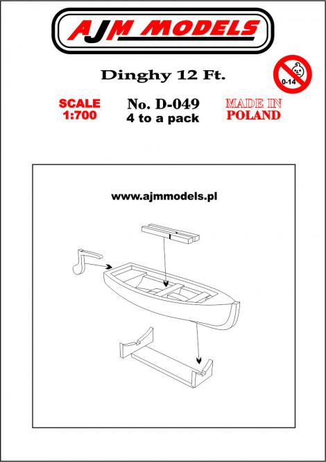 12 ft Dinghy (x4)