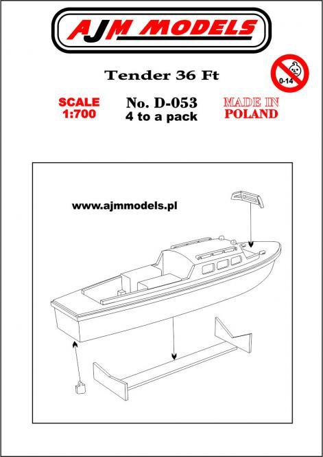 36 ft Tender (x4)