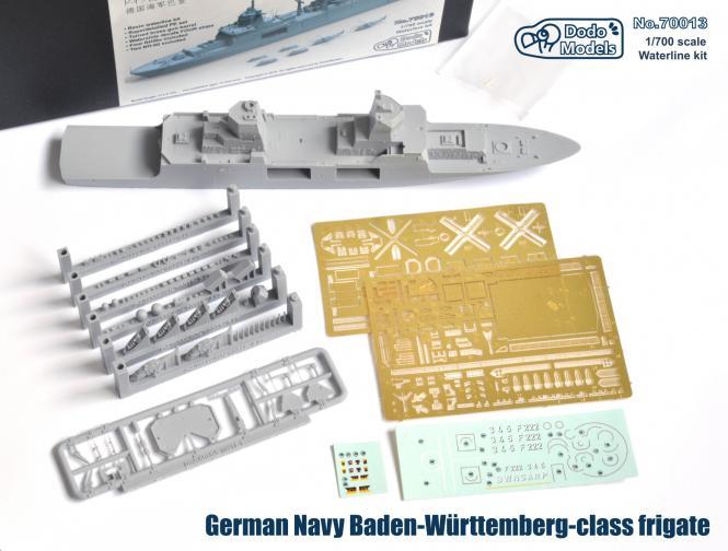 German Navy Baden-Württemberg class frigate