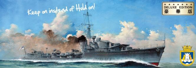 HMS Kelly 1940 DeLuxe Edition