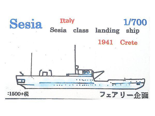 Sesia Class Landing Ship 1941 Crete