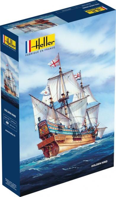 Golden Hind - das Schiff von Sir Francis Drake