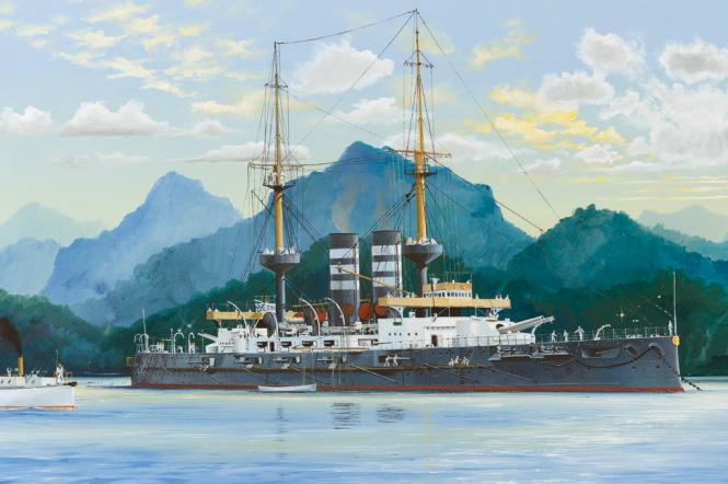 Japanese Battleship Mikasa 1902