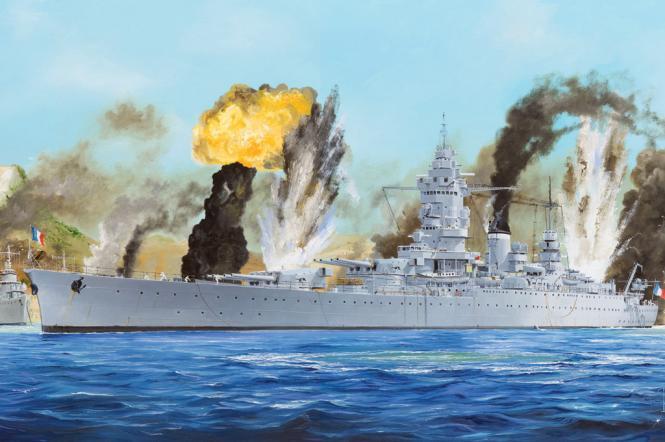 Dunkerque French Navy Battleship