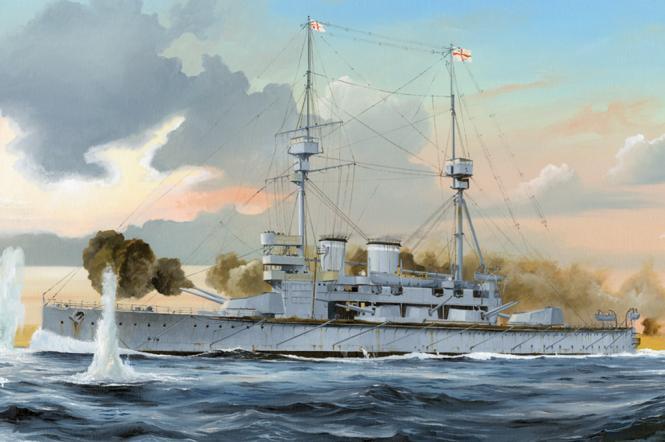 HMS Lord Nelson Royal Navy Battleship