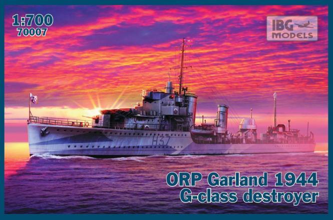 ORP Garland 1944 G-class destroyer