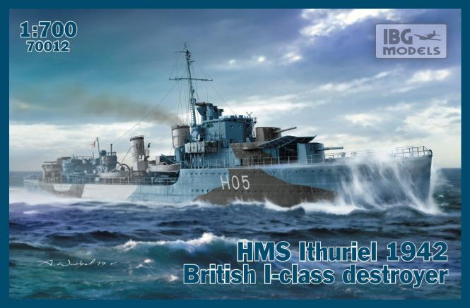 HMS Ithuriel 1942 British I-class destroyer